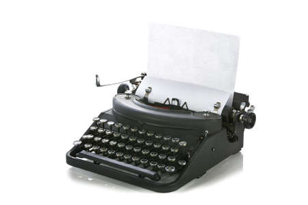 Vintage typewriter Stock Photo - 15265972