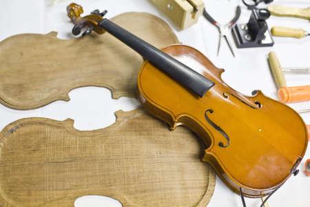 new build: Violin parts