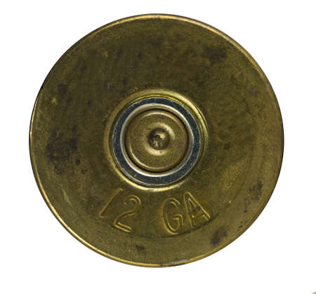 Bullet Shell casing bottom  版權商用圖片