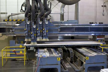 Industrie Fräsbearbeitung Schneiden des Rohlings Standard-Bild - 15265423