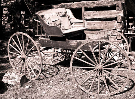 amish buggy: antique vintage buggy