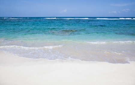 beach in the caribbean  photo