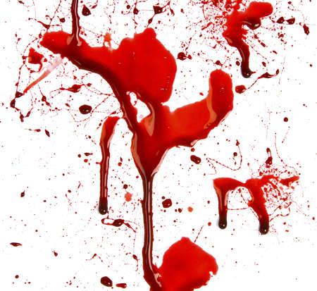 Blut tropfte Lizenzfreie Bilder
