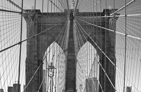 Lower Manhattan with Brooklyn bridge  New York City Stock Photo - 15123621