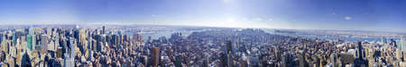 New York City Skyline panarama Stock Photo - 15034134