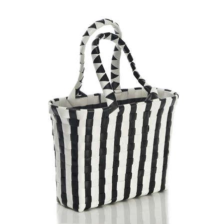 woman s handbag black and white Stock Photo