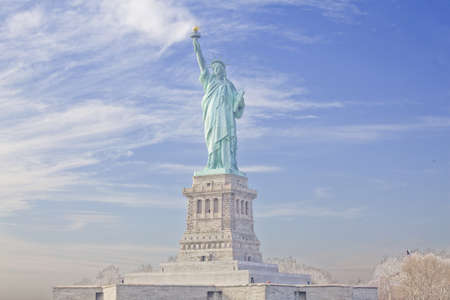 liberty torch: Statue of Liberty in New York