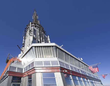 top of Empire state building in New York city Stock Photo - 15018847
