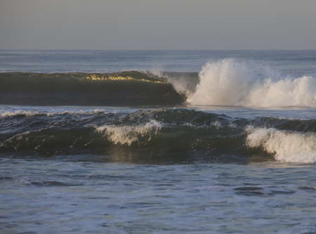 tides: early morning california wave