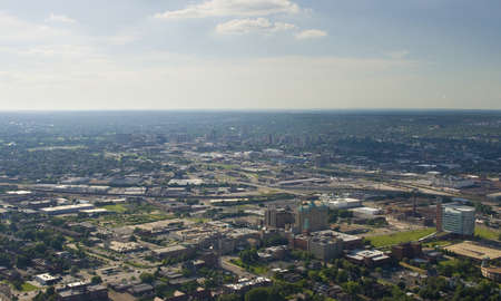 Aerial view of west St  louis city Stock Photo - 15803742