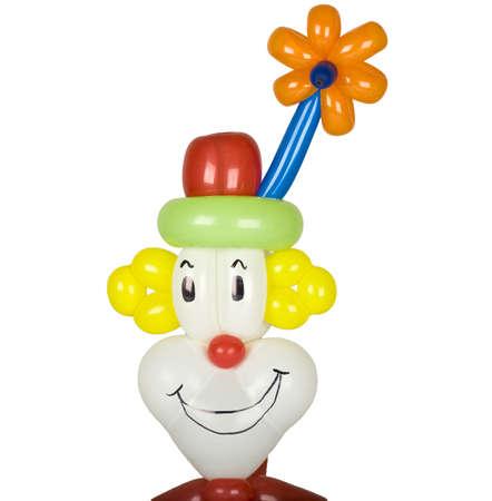 Balloon clown head photo