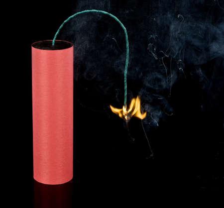 Big Firecracker on black