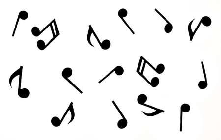 Random Music notes background