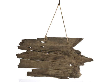 signboard: Blank wooden signboard