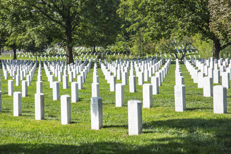 Arlington National Cemetery in Arlington County, Virginia, is a military cemetery in the United States of America