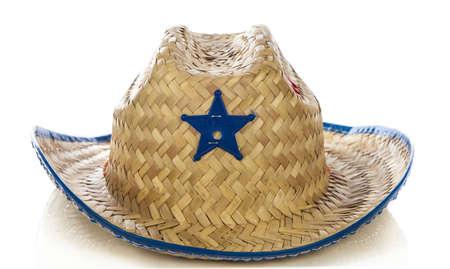 resistol: Sombrero de vaquero de juguete - sobre fondo blanco