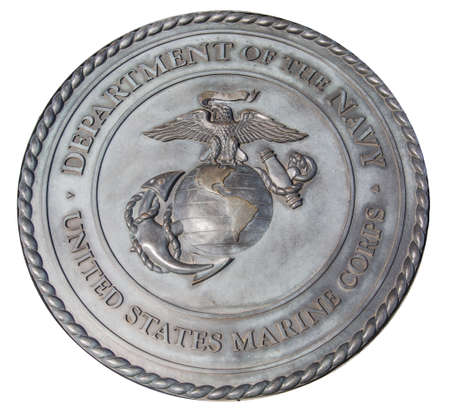 US Marine Corps commemorative plaque in Washington DC