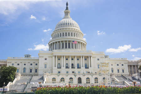 ulysses s  grant: United States Capitol Building in Washington DC  Stock Photo