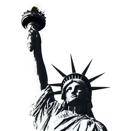 liberty: american statue of liberty-manhattan-n ew york city  Stock Photo