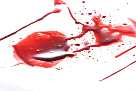 dripping paint: Blood Dripping