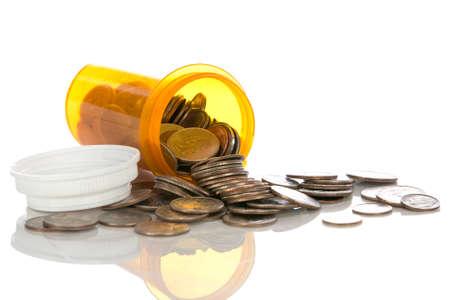 Health care cost Standard-Bild