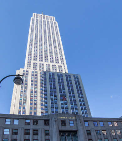 Empire State Building in Manhattan in New York City - USA