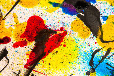 Ink splatters background Stock Photo - 36621394