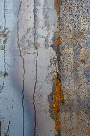 large sheet of rusted metal texture background image