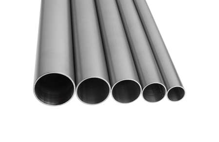 stainless steel pipes horizontal composition