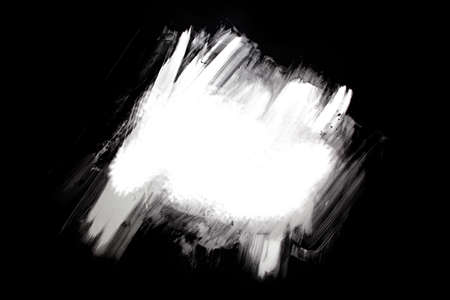 black and white paint scraped background with copyspace