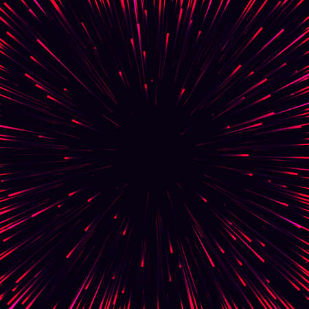 side effect: Abstract vector background. Speed line from sides to center. Stock Photo
