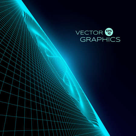 emanation: abstract vector object