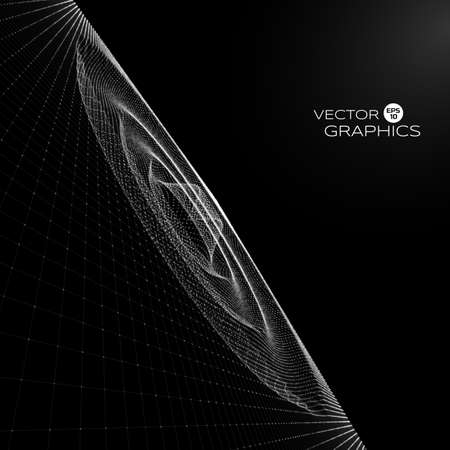 emitting: abstract vector object