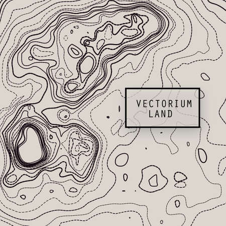 Design vector element abstract topography map, background texture.