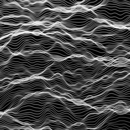 abstract vector wave Иллюстрация