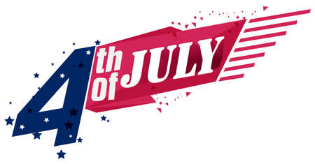 4th of July. Happy Independence Day. USA. United States of America. American Holiday. Fourth of July. Patriotic.