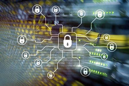 Cyber security, data protection,information privacy. Internet and technology concept Reklamní fotografie