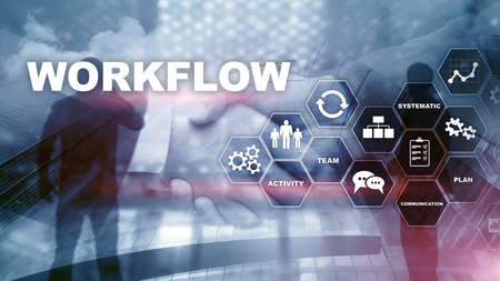 Automation of business workflows. Work process. Reliability and repeatability in technology and financial processes.