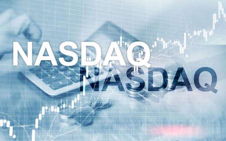 National Association of Securities Dealers Automated Quotation. NASDAQ. Stock Photo