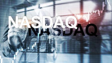 Cotation automatisée de l'Association nationale des courtiers en valeurs mobilières. NASDAQ.