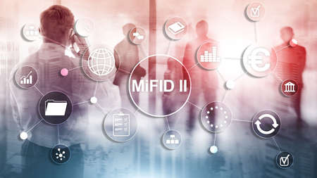 The Markets in Financial Instruments Directive. MiFID II. Investor protection concept. Banco de Imagens - 124844245