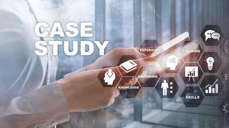 Casestudy. Bedrijfs-, internet- en technologieconcept