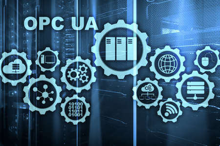 OPC Unified Architecture. Data Transmission in Industrial Networks concept