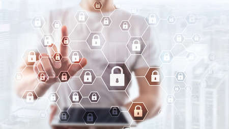 Cybersecurity, Information privacy, data protection, virus and spyware defense.