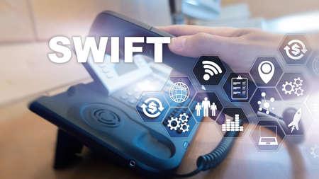 SWIFT. Society for Worldwide Interbank Financial Telecommunications. International Payment. Business background
