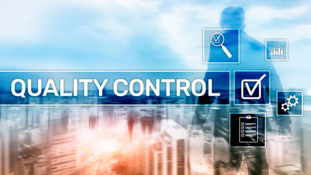 Quality control and assurance. Standardisation. Guarantee. Standards. Business and technology concept
