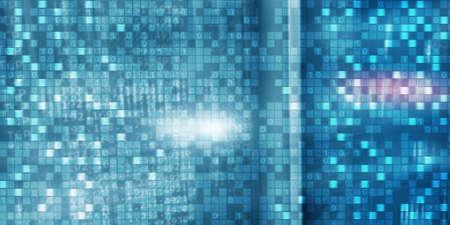Matrix. Digital background matrix information technology and internet concept