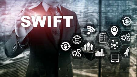SWIFT. Society for Worldwide Interbank Financial Telecommunications. International Payment. Business background.