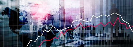 World Maps Financial Crysis Recession Economic concept.