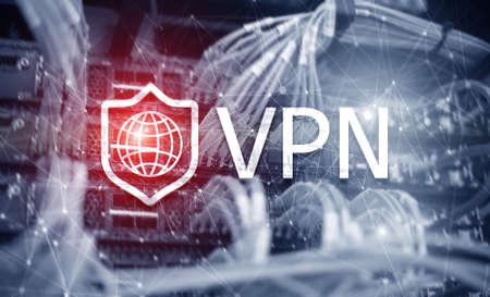 Virtual private network VPN. New technology concept 2020. Stockfoto